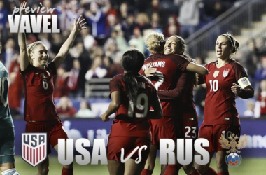 USWNT against Romania | Source: Alondra Rangel - Vavel USA