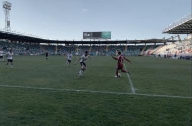 Un gol de Nacho López le da la victoria al Salamanca CF ante Unionistas