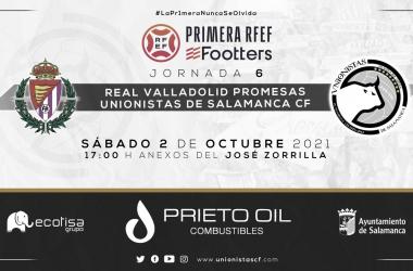 Previa Real Valladolid Promesas vs Unionistas CF: El líder viaja a Valladolid en busca de sumar tres puntos