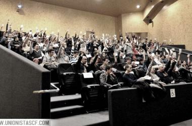 Asamblea de Unionistas de hace unas temporadas. Foto: Unionistas CF