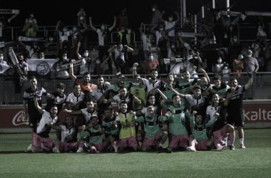 Bilbao Athletic- Unionistas. Foto: USCF