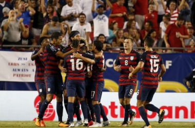 The USMNT wins group B via Matt Miazga's late goal. | Source: Kim Klement, USA TODAY