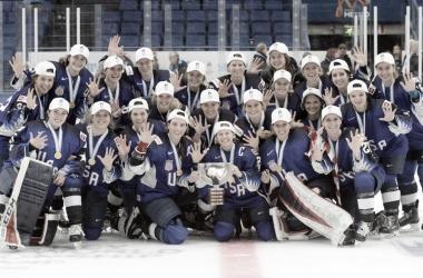 Team USA domina en la actualidad el hockey femenino. NHL.com.