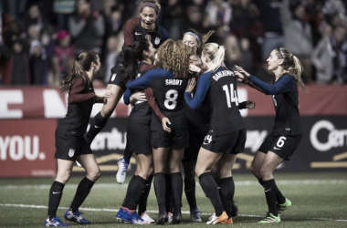 After winning their two matches against Switzerland, the USWNT comes together one last time for 2016. (Source: U.S. Soccer)