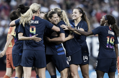 The USWNT defeated China twice in June| Photo: US Soccer