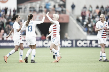 The USWNT are back in action this month | Source: ussoccer.com
