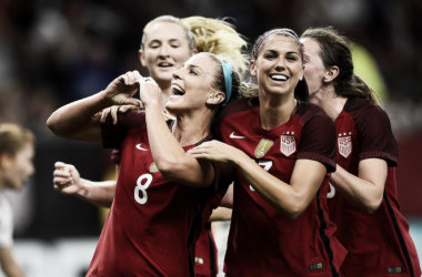 A successful October for the USWNT has the team ready to finish the year strong | Source: Bob Smith - ISI Photos/US Soccer