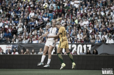 USWNT hopes to bounce back after their Tournament of Nations 2nd place finish | Source: Brandon Farris - VAVEL USA