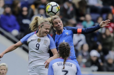The United States' first game of 2019  will be against France. (photo via si.com)