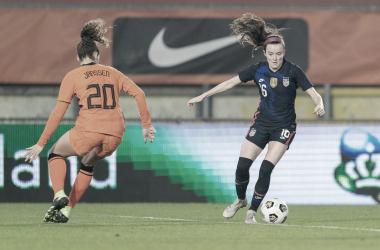 Estados Unidos venció 2-0 a Países Bajos en Breda en 2020 y se volverán a enfrentar en los Juegos Olímpicos| Fotografía: U.S.Soccer