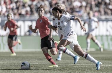 Estados Unidos continúa su preparación a tope con miras a la Clasificación para la Copa Mundial Femenina FIFA 2023 | Fotografía: U.S.Soccer