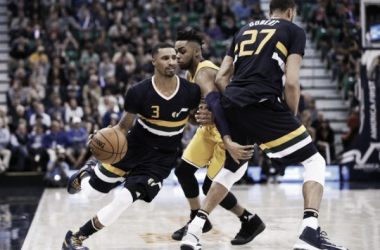 George Hills leads the Utah Jazz to victory. | Photo: USA Today Sports