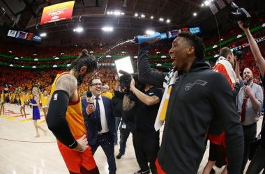 """NBA Playoffs - Utah Jazz, """"questo è soltanto l'inizio"""" - Foto Donovan Mitchell Twitter"""