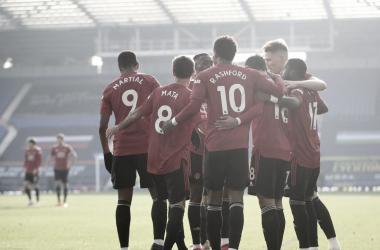 Resumen Everton 1-3 Manchester United