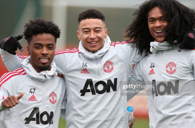 Angel Gomes and Tahith Chong are top talents but need experience (Photo: Matthew Peters / Getty Images)