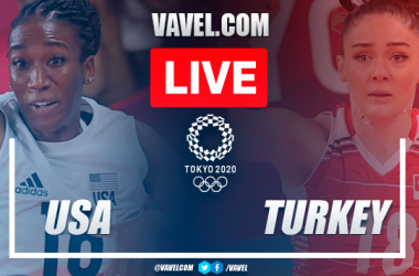 Highlights: USA 3-2 Turkey in Women's Volleyball Olympic Games 2020