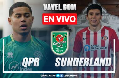 Goles y resumen del QPR 0(1)-(3)0 Sunderland en Carabao Cup
