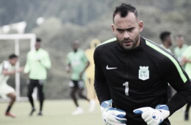 Christian Vargas, hombre de experiencia en Atlético Nacional. Foto de: Vavel Colombia.