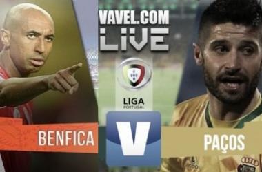 Resultado Benfica x Paços de Ferreira na Liga NOS (3-0)