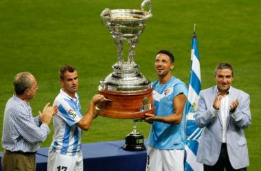 La Lazio, rival del Málaga en el Trofeo Costa del Sol