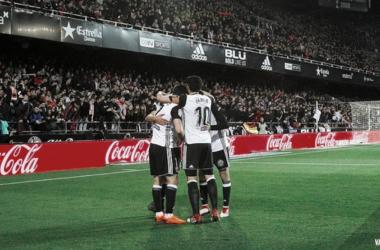 El Valencia CF pelea por su regreso a la Champions