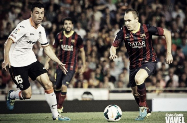 Un Barcelona herido busca reaccionar contra el Valencia