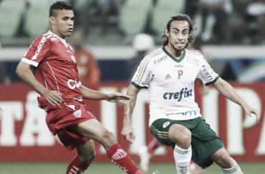 Valdivia em campo diante do Mogi Mirim (Foto: Ag. Palmeiras/Divulgação)
