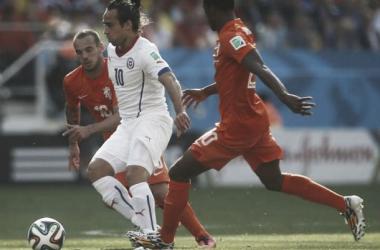 Valdivia atuou pelo Chile na Copa do Mundo de 2014 (Divulgação/FFCh)