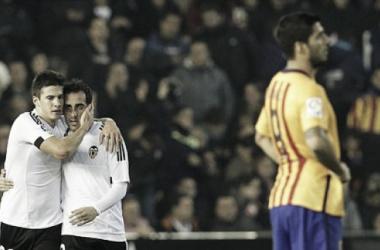 Barcelona perde dois pontos em Valencia