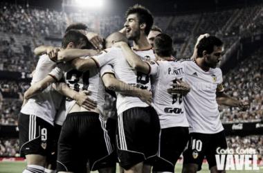 Horarios para el Málaga - Valencia de la jornada 27