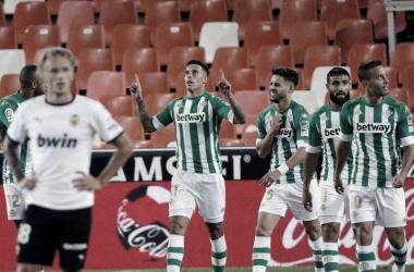 Tello y Álex Moreno, en el once ideal de la jornada 5 de Maldini