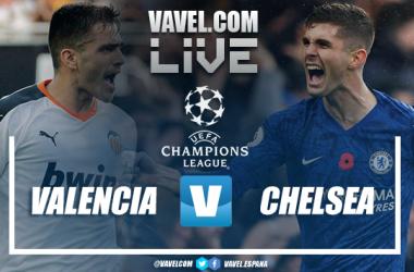 Valencia vs Chelsea./ Fotomontaje: Javier Jábega