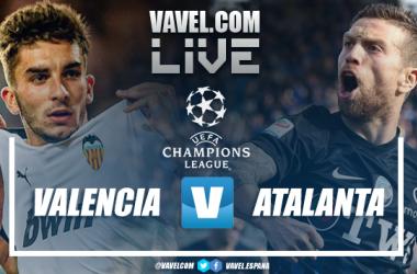 Resumen del Valencia 3-4 Atalanta en la vuelta de los octavos de final de la Champions League 2020