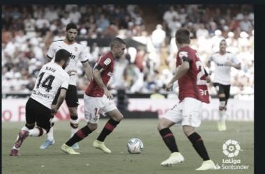 Valencia CF vs RCD Malllorca Fuente: LaLiga