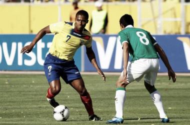 A seguir: Antonio Valencia