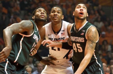 Michigan State Extends Winning Streak To Four With Road Win Over Illinois
