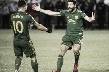 Diego Valeri y Sebastián Blanco deslumbraron con Portland Timbers