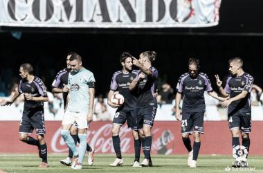 Partido entre el RC Celta y Real Valladolid | LaLiga