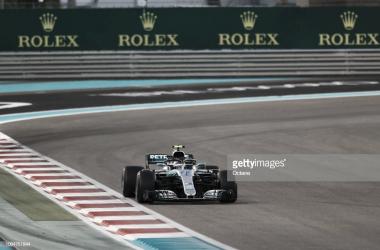 Bottas durante el último Gran Premio de Abu Dhabi. Foto: Getty Images,