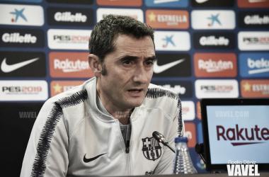 Imagen de Ernesto Valverde, entrenador del FC Barcelona. FOTO: Noelia Déniz