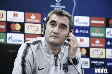 Imagen de Ernesto Valverde, técnico del FC Barcelona. FOTO: Noelia Déniz