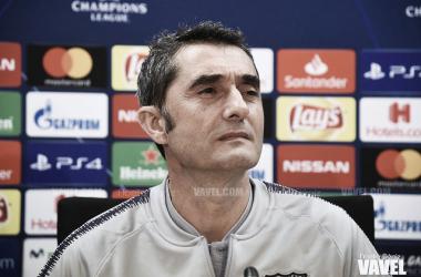 """Valverde: """"Hay que tener paciencia con la cantera"""""""