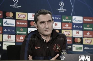 Ernesto Valverde en rueda de prensa | Foto: Noelia Déniz - VAVEL