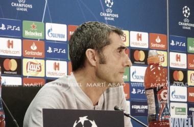 "Ernesto Valverde: ""Será un partido muy intenso"""