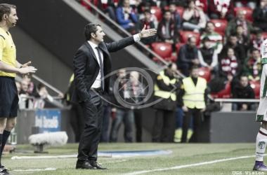 Valverde lamentó la pérdida de puntos ante el Granada | Foto: UGS