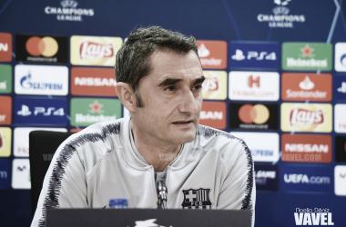 El entrenador azulgrana en una imagen de archivo / Foto: Noelia Déniz (VAVEL.com)