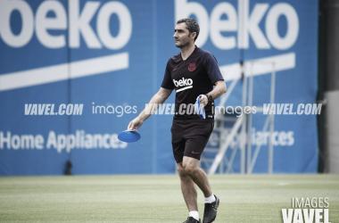 """Ernesto Valverde: """"Será un partido atractivo para la gente"""""""