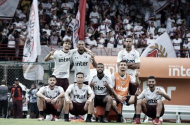 Com presença da torcida, São Paulo realiza últimos ajustes para Choque-Rei