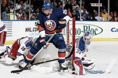 Talbot suple a Lundqvist a lo grande en el debut de Vanek con los Islanders