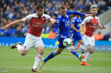 Leicester City and Arsenal do battle once again on Saturday | Photo: Getty/ Lindsey Parnaby
